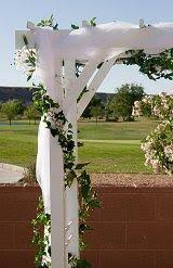 wedding arches square wedding arch decoration tulle ideas for decorating a wedding