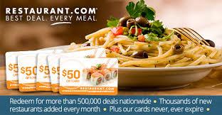 restaurant gift cards half price specials by restaurant 5 50 restaurant gift cards for 48