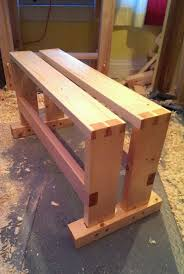 Woodworking Bench Top Plans by 603 Best 1 Work Benches U0026tables Images On Pinterest Woodwork
