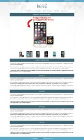 mobile theme professional ebay listing template for 24 99