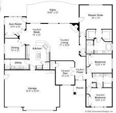 ranch house floor plans open plan ranch style floor plans open homes floor plans