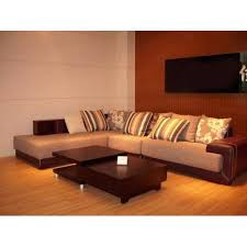 wooden corner sofa set comfortable corner sofa at rs 38000 set chamde ka sofa mayur