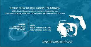 Map St Petersburg Florida by The Getaway U2013 Tampa Fl