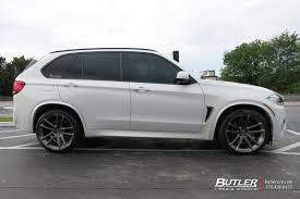 bmw van 2015 bmw x5m with 22in avant garde f331 wheels exclusively from butler