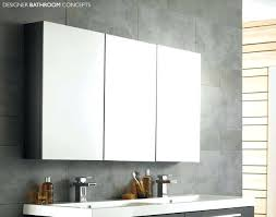Bathroom Cabinet Mirrored Large Bathroom Medicine Cabinet W Mirrors White With Mirror