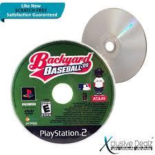 backyard baseball sony playstation 2 2004 ebay