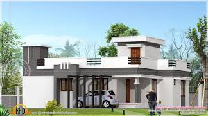house plan small contemporary home in sq feet indian plans simple