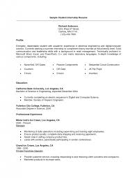cover letter resume samples for college students resume samples