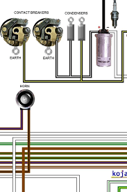 bsa a50 u0026 a65 1967 1968 colour motorcycle wiring diagram