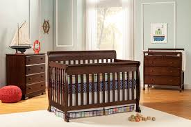 Espresso Convertible Crib by Kalani Nursery Collection Davinci Baby