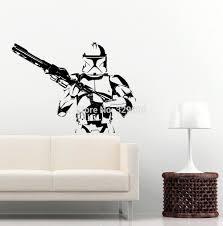 28 star wars wall sticker star wars clone wars giant yoda star wars wall sticker star wars storm trooper wall vinyl art decal iconic kid