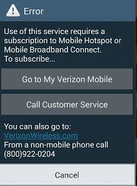 android mobile hotspot use stock mobile hotspot app on verizon without subscription