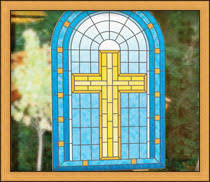 stained glass door film religious christian window film wallpaper for windows