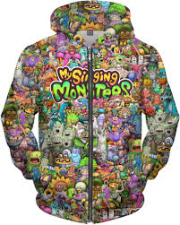 My Singing Monster My Singing Monsters Character Collage T Shirt