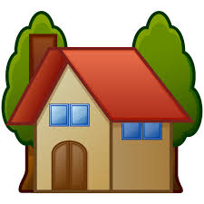 house emoji house with garden emoji for facebook email sms id 12748