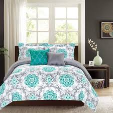 Grey And Teal Bedding Sets On Comforters Today Almaden Set Purple Gray Black Yellow Navy