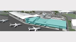 first look at 80m airport development plans newcastle herald