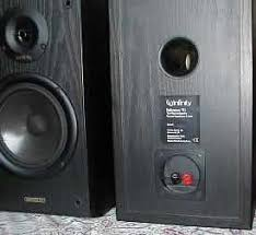 Infinity Bookshelf Speakers Infinity Reference 11i Two Way Speakers Review English