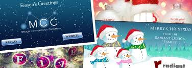 sending animated e cards instead of christmas cards radiant web
