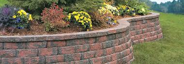 anchor aspen stone retaining walls u0026 garden wall blocks