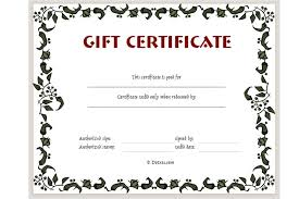 microsoft office gift certificate template certificates officecom