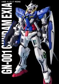 mg gn 001 gundam exia english manual u0026 color guide mech9 com