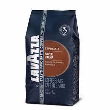 lavazza super crema whole bean espresso coffee whole latte love