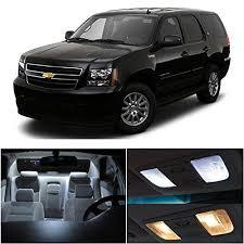 chevy silverado interior lights ledpartsnow chevy tahoe 2007 2014 xenon white premium led interior