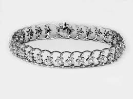 diamond flower bracelet images 15 best diamond bracelets images etsy natural jpg