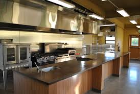 design stainless steel material industrial kitchen design