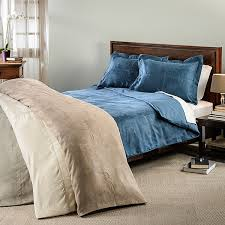 Duvet Cover Oversized King Oversized Microsuede Saddle 3 Piece Duvet Cover Set Free