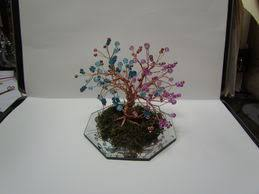Tree Centerpieces How To Make A Beaded Wire Tree Centerpiece