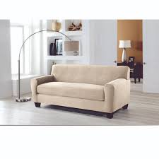 perfect fit stretch fit slipcover for sofa box cushion u2014buy now