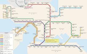 Hong Kong Subway Map by Panda Guides Transportation