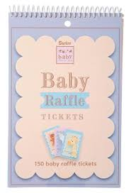 baby shower raffle baby shower raffle tickets pad 150 tickets