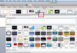 Applying Themes In Powerpoint Word And Excel 2011 For Mac Theme Ppt 2010
