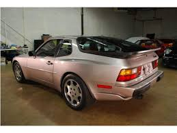 porsche 944 silver take 1988 porsche 944 turbo s silver german cars