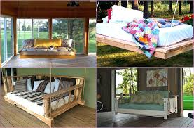 outdoor floating bed outdoor floating bed swing bed ideas to enjoy floating in mid air