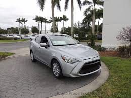 2017 toyota yaris ia manual sedan for sale in west palm beach fl