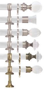 Lucite Drapery Rods Clear Drapery Hardware Toronto Acrylic Curtain Rods U0026 Finials