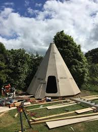 Backyard Teepee Build A Teepee Guest House In Your Backyard Diy Projects For