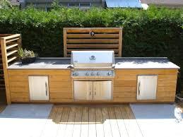 comment construire une cuisine exterieure cuisine exterieure beton amazing d en with comment faire une