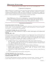 sample financial controller resume financial controller cover