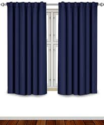 Drapery Puller Amazon Com Blackout Room Darkening Curtains Window Panel Drapes