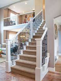 Ideas For Banisters Staircase Design Inspiration Pictures And Remodels Traditional