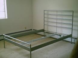 silver bed frame king home design ideas