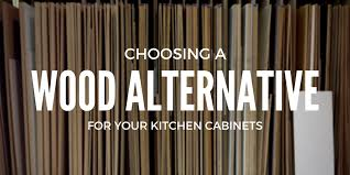 Choosing A Wood Alternative For Your Kitchen Cabinets Superior - Alternative to kitchen cabinets