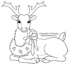 pleasant design ideas reindeer coloring pages 2 reindeer coloring