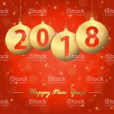 new year 2018 christmas bubbles stock vector art 869837874 istock
