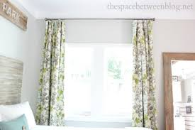 Sewing Curtains With Lining Lined Curtain Tutorial By Karah The Space Between Blog Using